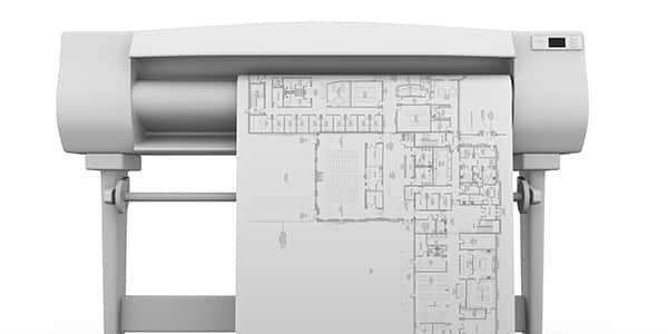 Druk i kopiowanie wydruków CAD