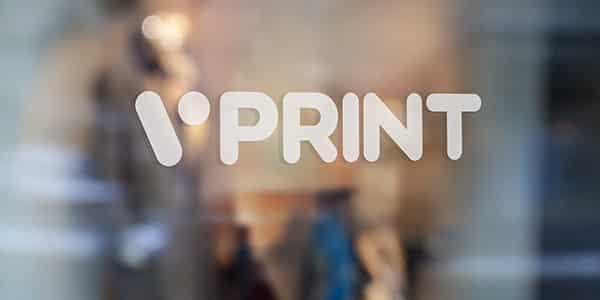 Wycinanie z druku wielkoformatowego na folii